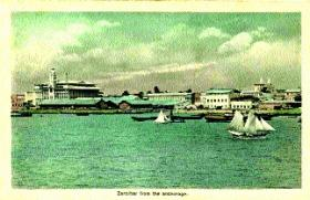 Zanzibar—Pandora's tours of duty were to be spent in almost continuous passage up and down the east coast of Africa as far north as Zanzibar.