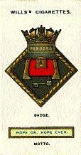 The badge of the Pandora