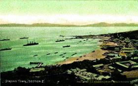 Simon's Bay, Simonstown, South Africa—home base of the British navy's Cape squadron