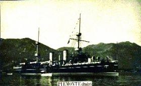 On 20 May 1910 the Italian cruiser Piemonte fired 101 'minute guns' in memory of the late King Edward VII