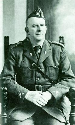 O'Duffy in the uniform of the Irish Brigade, c. 1937. (Monaghan County Museum)