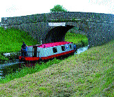 The Royal Canal, Abbeyshrule, Co. Longford. Until eclipsed by the railways the Royal Canal was the main mode of transport to Dublin for Longford and Westmeath emigrants.