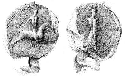 Strongbow's seal. (British Library)