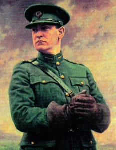 Michael Collins - his failure to understand the Northern situation meant that his policy was at best a failure and at worst counterproductive. (OPW)