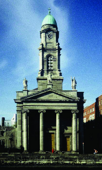 St Paul's, Arran Quay-Byrne's first church-building brief in 1835.