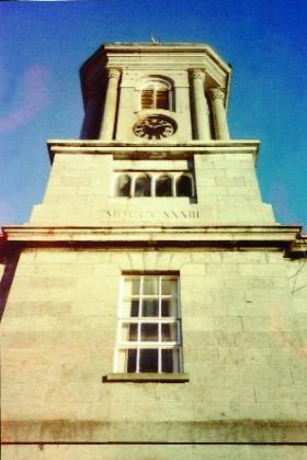 Bell-tower of the Connacht District Lunatic Asylum (now St Brigid's Hospital), Ballinasloe.