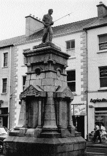 Fig.1 The Pikeman of Tralee, Denny Street—unveiled in June 1939.