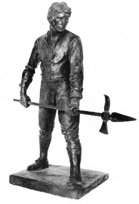 Fig.3 Jerome O'Connor's Pikeman—lost the commission due to delays.(Liam Kennedy, ESB)