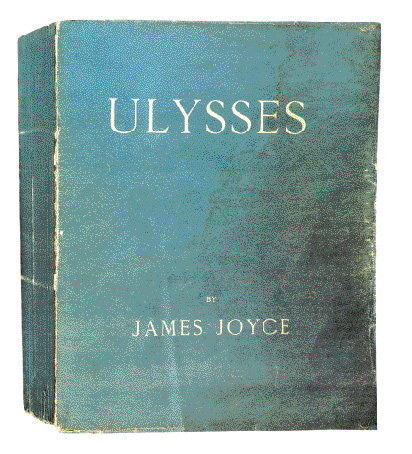 The very first edition of Ulysses, Paris, 1922. (National Library of Ireland)