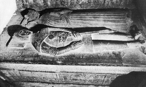 The tomb of Thomas and Elen Butler in the Franciscan friary at Clonmel, Co. Tipperary, founded in 1269. (PDI Photography, Dublin)