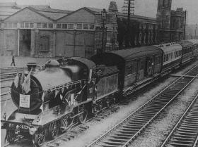 Inchicore rail works in the 1920s.
