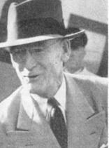Joseph Carrigan, chief of the Economic Co-operation Administration (ECA, the ERP administration) mission to Ireland 1948–50. (National Archives of Ireland)