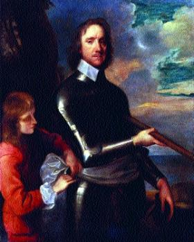 Oliver Cromwell. (National Portrait Gallery)