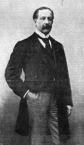 Captain O'Shea c. 1880—his association with the republican movement, however limited, is an indication of his unprincipled and highly personalised approach to politics. (Multitext, UCC)