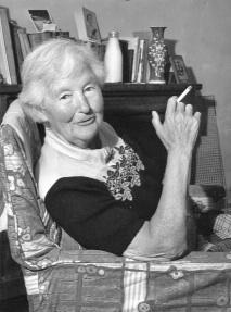 Flora Sandes in June 1956, five months before her death at the age of 80. (Sandes family)