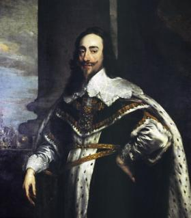 Charles I—his drive for political and religious uniformity throughout the three Stuart kingdoms moved the issue from plantation to the much more dangerous, and ultimately fatal, 'British problem'. (Scottish National Portrait Gallery)
