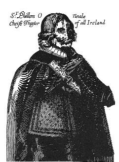 Sir Phelim O'Neill, one of the leaders of the rebellion, allegedly chastised George Creighton, a minister and a Scotsman who had settled in Virginia, Co. Cavan, for bringing 'Plantacions into our Landes'.