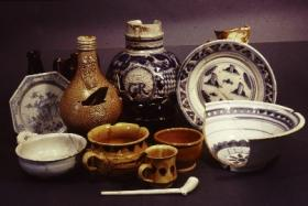 Post-medieval artefacts recovered during archaeological excavations in Derry in the 1970s