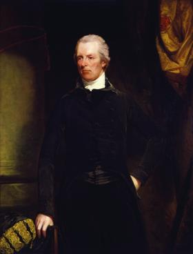 William Pitt, first lord of the treasury and prime minister of Great Britain from December 1793. By 1785, in its attempt to introduce unpopular commercial regulations, Pitt's ministry needed the bulwark of strong support in the Irish House of Lords. (National Portrait Gallery, London)