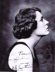 Marisa Damia, Gray's great love in the 1920s, was the daughter of a gendarme and a nightclub singer. They drove up and down the boulevards of Paris with Damia's pet panther sitting on the back seat of Gray's roadster.