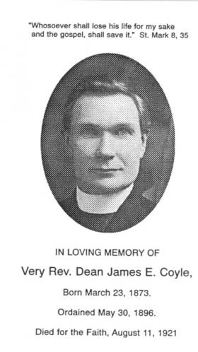Fr James Coyle