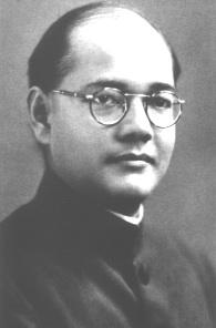 Subhas Chandra Bose, portrait taken in Dublin in 1936. (Netaji Research Bureau)