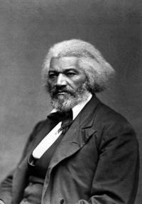 Frederick Douglass, the most famous black abolitionist of the nineteenth century. On his 1845 visit to Ireland, the Liberator introduced him to a meeting as 'the black O'Connell of the United States'. (George K. Warren)
