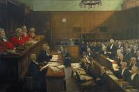 Sir John Lavery's High Treason—a foundational instance of shared history? (UK Government Art Collection)