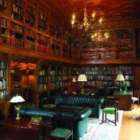 The collection remains in situ at Farmleigh, in the wonderfully atmospheric purpose-built library. (Gillian Buckley)