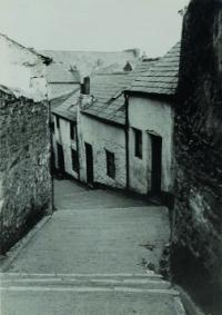 Keyser's Hill, leading to the south bank of the Lee, close to the South Gate Bridge—the only place in Cork that still has a Viking name. (Cork City Libraries)