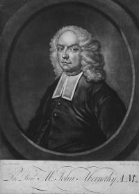 In the 1720s Francis Hutcheson, 'father of the Scottish Enlightenment', Revd John Abernethy and Revd Thomas Drennan (father of William Drennan, the United Irishman) formed a group of philosophers and clergymen linked to the Wood Street meeting-house. They published Hutcheson's works, but also those of English Civil War republicans and Commonwealthmen such as John Harrington and the notorious heretic John Toland. (Dublin Unitarian Church)