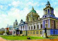 The physical embodiment of Ireland's 'municipal revolution'? Belfast City Hall, constructed 1898–1906, the largest and most impressive city or town hall in Ireland. (Allan Kirk, http://www.framedwithcare.com)