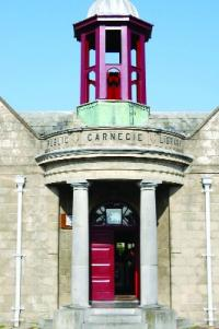 Kilkenny's Carnegie Library, which was opened in 1910—an example of municipal government in action.
