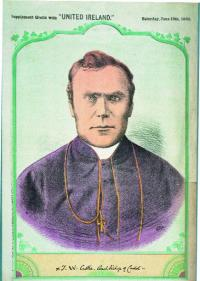 Dr Thomas W. Croke, archbishop of Cashel—in the 1880s he maintained that 'ball-playing, hurling, football-kicking according to Irish rules . . . may now be said to be not only dead and buried, but in several localities to be entirely forgotten'. (National Library of Ireland)