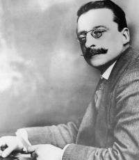 Arthur Griffith—'. . . perhaps the smell which the motor-car leaves behind is symbolic, too . . .'. (George Morrison)