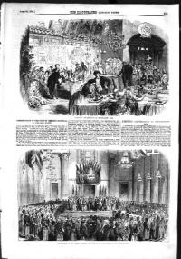 A conversazione at London's Apothecaries' Hall in 1855.