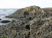 The Giant's Causeway, Co. Antrim—over 700,000 visitors per year.