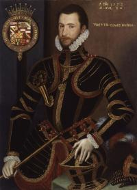 Walter Devereux, first earl of Essex—in spite of investing a large fortune, his disastrous and bloody colonisation scheme in the 1570s destroyed much of north Clandeboye (south Antrim). (National Portrait Gallery, London)