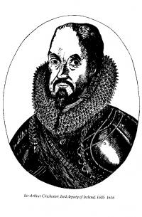 Sir Arthur Chichester—governor of Carrickfergus from 1599 and lord deputy of Ireland in 1605—believed in famine as the main method of defeating the Gaelic Irish.
