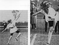 Sophie Eliott-Lynn, who was the first-ever British women's javelin champion in the 1920s and set an unofficial world record for the high jump.