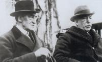 Carson and Craig in the 1920s. Under the influence of the latter, did the former abandon his southern unionist roots in creating a bastion for Ulster unionists? (George Morrison)