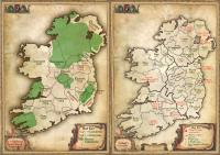 The medieval, modern and urban counties of Ireland. (Tomás Ó Brógáin)