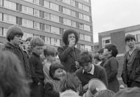 Eamonn McCann—recounts in his classic War in an Irish town that '. . . by dawn the area [Derry's Bogside] was hysterical with hatred'. (Eamonn Melaugh)