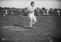 Triple Olympic hammer champion (1900, 1904 and 1908) John J. Flanagan, a member of the Irish-American Athletic Club, which had more Olympic medal-winners to its name before 1920 than the whole of 'Ireland' has had since independence.