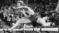 Fanny Blankers Koen—the 'Flying Dutchwoman' was rapturously received on visits to Dublin and Belfast after the 1948 London Olympics.