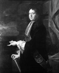 Captain William Penn, the parliamentary vice-admiral in Ireland, took the war directly to the enemy by launching raids on royalist-held territory from his ships. (National Maritime Museum, London)