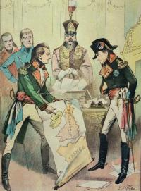 Theobald Wolfe Tone with Napoleon, December 1797—'His major qualities, the qualities that mattered, were first that he was a man of action; unfortunately for himself, he had to act on a small sphere and unsuccessfully. He was unlucky as a man of action.' (Weekly Freeman & National Press, 11 December 1897)