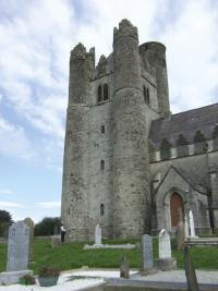 Lusk in north County Dublin was the site of a pre-Norman monastery and a medieval church. Its tower was already a long-established landmark in the 1650s.