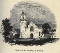 St Multose's Church in Kinsale. Vital heard high mass sung in the church and also witnessed a clandestine marriage in its grounds. (Mary F.C. Cusack, A history of the city and county of Cork (Cork, 1875))