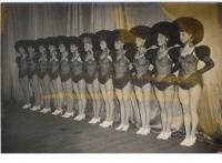 The Royal's permanent dance troupe, the 'Royalettes', c. 1940s—Babs de Monte, who, along with Alice Delgarno, trained them, is fourth from the right. (Wade Collection, Gilbert Library)
